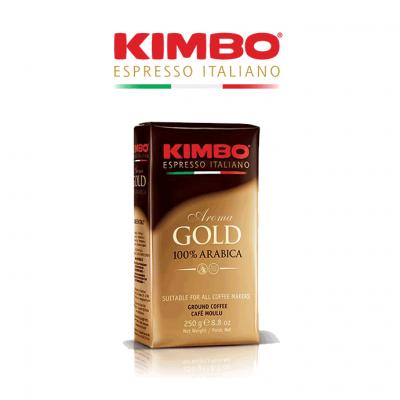Kimbo Espresso Gold 100% Arabica Ground Coffee (20 x 250gr)