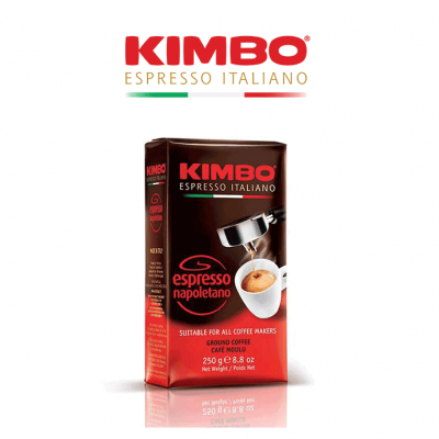 Kimbo Espresso Napoletano Ground Coffee (20 x 250g)