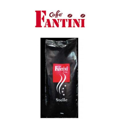 Fantini Espresso Beans – 4 Star Black 100% Arabica  (8 x 1Kg)