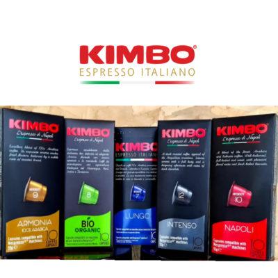 Kimbo Nespresso Compatible Capsules