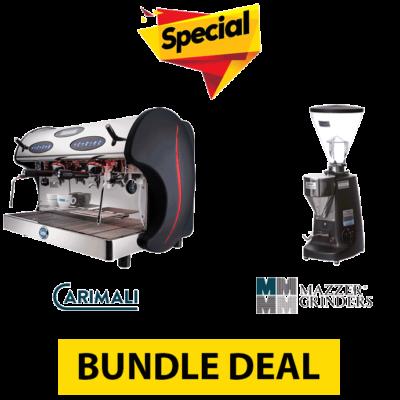 Bundle Deal #1 – CARIMALI KICCO E2 + MAZZER SUPER JOLLY ELECTRONIC
