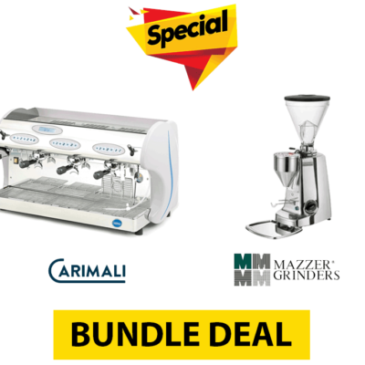 Bundle Deal #2 – CARIMALI KICCO E3 + MAZZER SUPER JOLLY ELECTRONIC